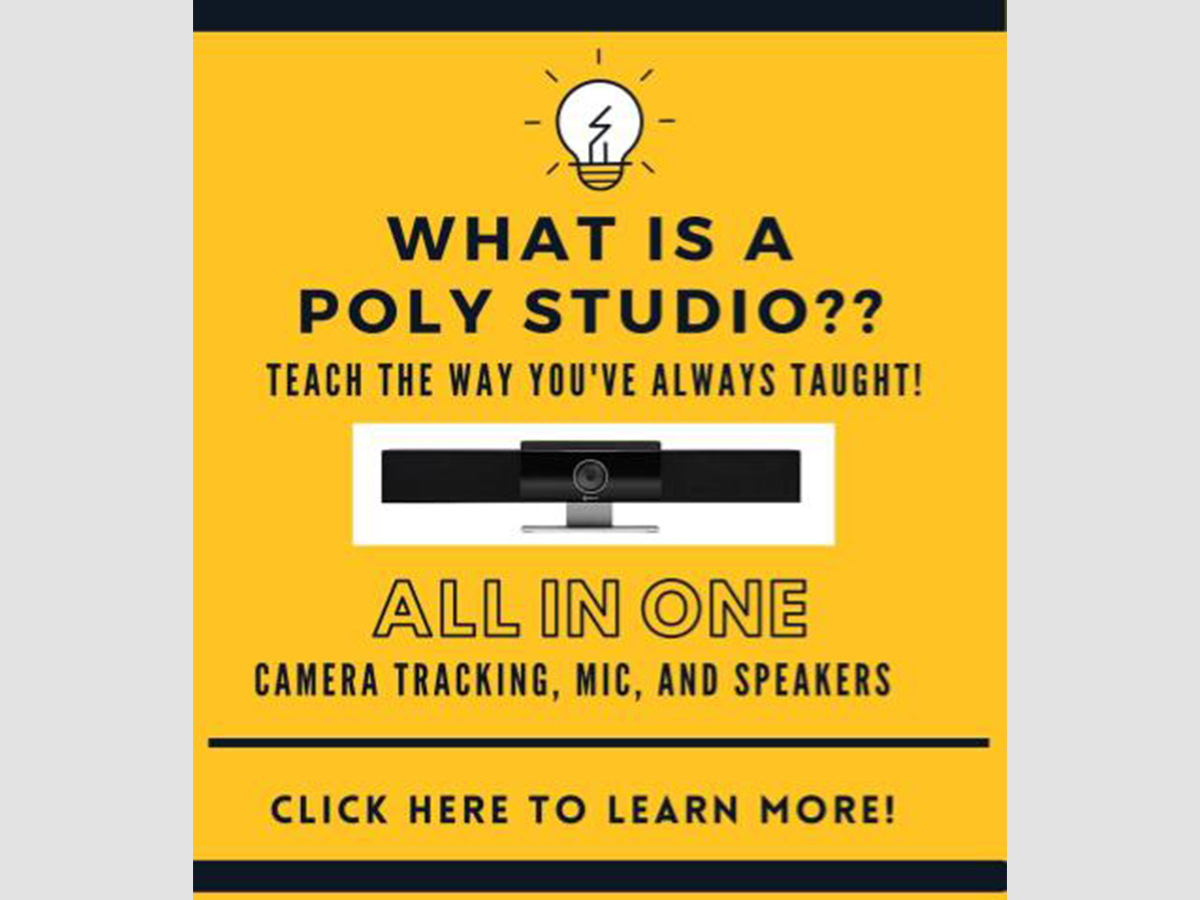 What is a Poly Studio?