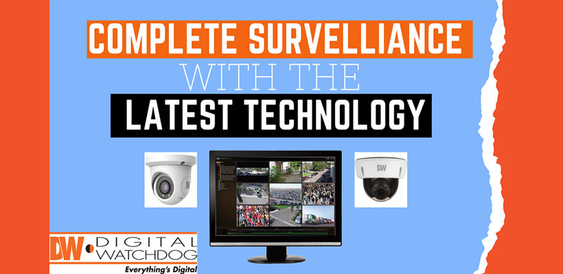 Complete Surveillance solution with the latest technology.